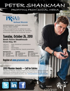 Peter Shankman Event